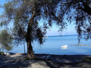 Plot by the sea located at South Corfu