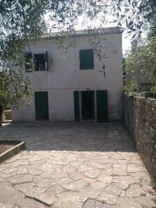 Stone made house in Paxos